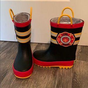 Fire Rescue Rain Boots 🚒